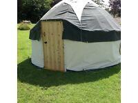 For Sale 12 foot diameter Hazel Yurt