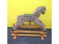 Childs antique rocking horse