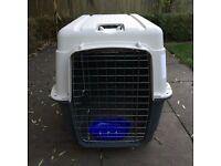 Dog transport cage for air / road travel - IATA approved