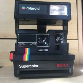 Original Polaroid Supercolor 635CL