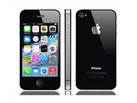 Apple IPhone 4 Black. 16GB Unlocked. In lovely condition