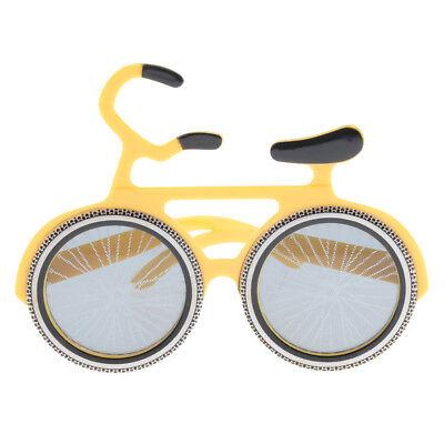 Neuheit Fahrrad geformte Sonnenbrille lustige Party Bike Brille Maske