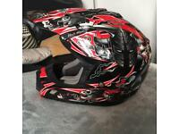 Kids Junior Motocross helmet