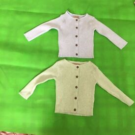 9-12 Month girls Next Jumpers new but no tags