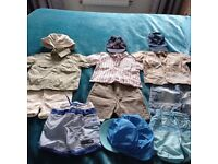 3-6 mth Gorgeous bundle of Summer outfits and swimming shorts for boys