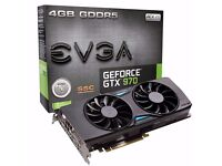 EVGA GeForce GTX 970 SSC ACX Cooling 2.0 4GB Graphics Card