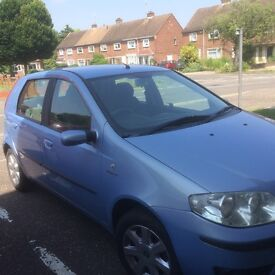 For Sale !! 1.4l Fiat Punto with full service history