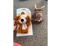 New my first puppet and Sven frozen
