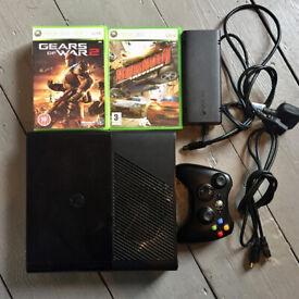 Xbox 360 E console (500gb memory) and 7 games