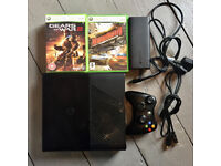 Xbox 360 E console (500gb memory) and 7 games