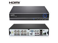 SANNCE 8CH 5IN1 DVR Digital Video Recorder Output Security Camera System