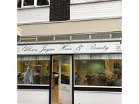 Turn key Hair dressing salon for sale or rent with ingoing