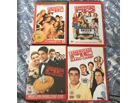 Bundle of dvds and blurays