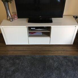 Next TV unit- Valencia white gloss