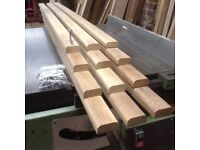 Hardwood 4ft Garden bench seat slats for Cast iron bench ends-Highly durable African Iroko