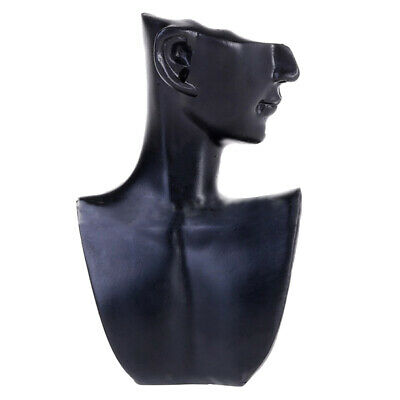 Earring Necklace Jewelry Display Bust Pendant And Chain Display Mannequin Stand