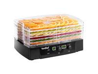 VonShef 6 Tray Digital Food Dehydrator Dryer Machine