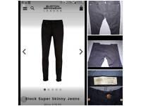 X2 Bnwot burton London menswear jeans w32 l30
