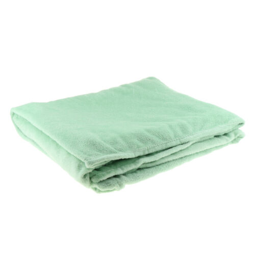 Winter Warm Flannel Bed Blanket Sheet Cover for King Queen E