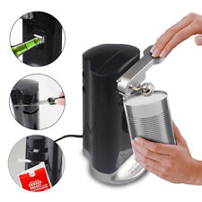 Electric 4 in 1 Multi unction Tin Can Bottle Opener Knife Sharpener
