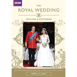 THE ROYAL WEDDING DVD WILLIAM AND CATHERINE MIDDLETON R4 AUS Cate Kate SEALED &