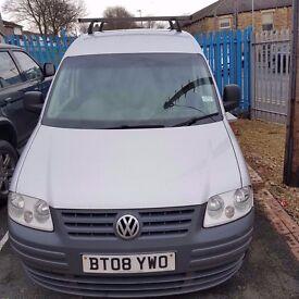 2008 (58) Volkswagen Caddy Van 69PS SDI 2.0L NO VAT TO PAY