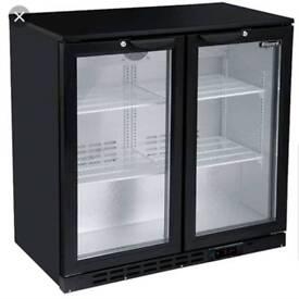 Under counter bar bottle fridges