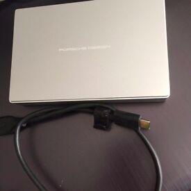 LaCie Porsche Design 2.5-Inch 5 TB USB-C/USB 3.0 Mobile Drive for PC and Mac