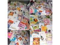Job lot bundle of 85 mixed Greeting cards for all occasions