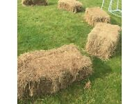 27 x Hay Bales. Perfect for events as seating. Horse Hay Bales.