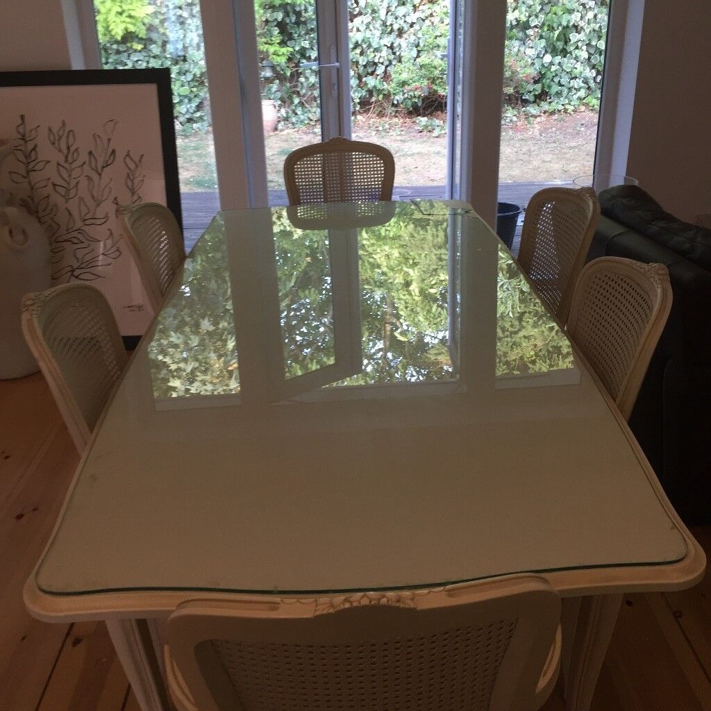 Laura Ashley Provencale Ivory Extending Dining Table And Chairs In Sutton London Gumtree