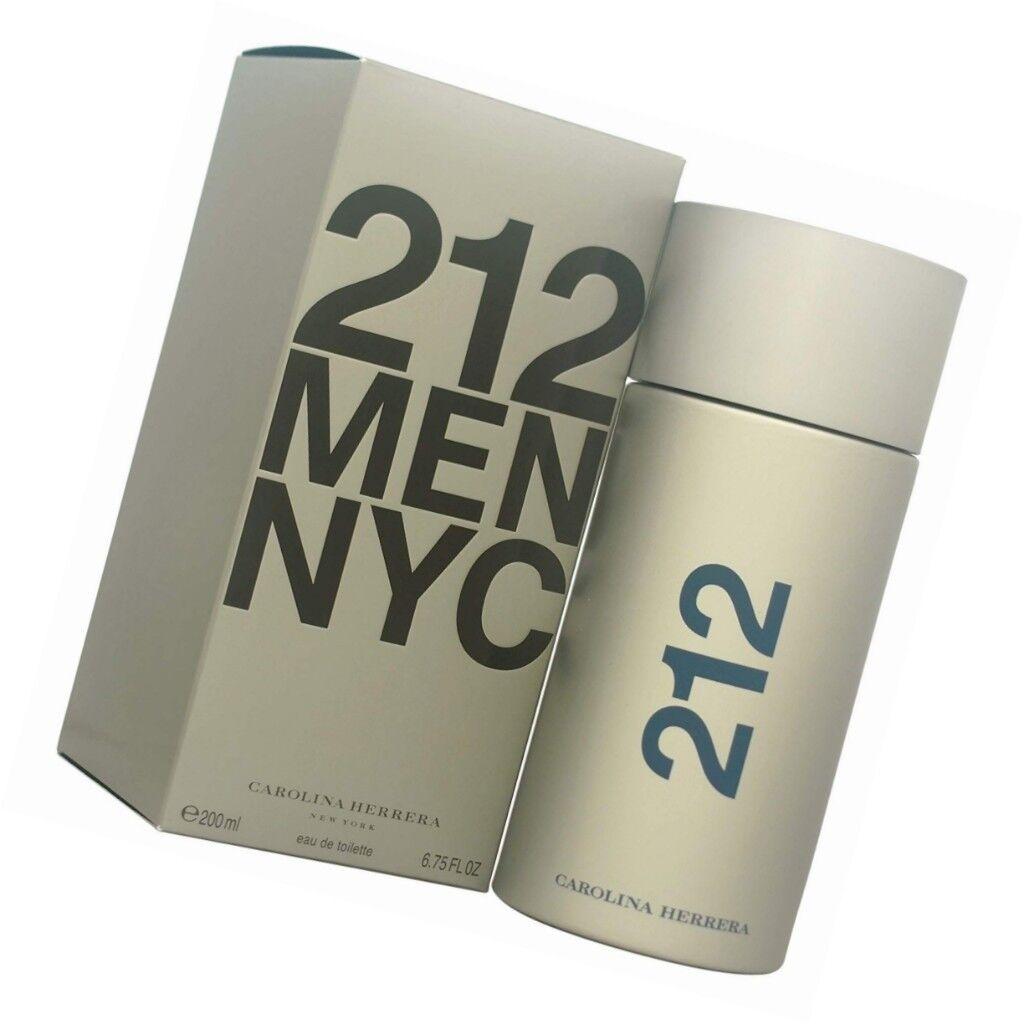 2dc64b522a ORIGINAL PRICE COSTS MORE THAN £80 Carolina Herrera 212 Men Eau de Toilette  200ml Men Spray