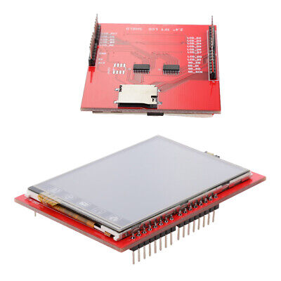 2.4 Tftlcd Clear Touch Screen Shield Module For Arduino With Led Backlight