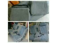 Mazda Bongo Car Seats x 6 Original Grey/Blue Front & Rear Transit Van