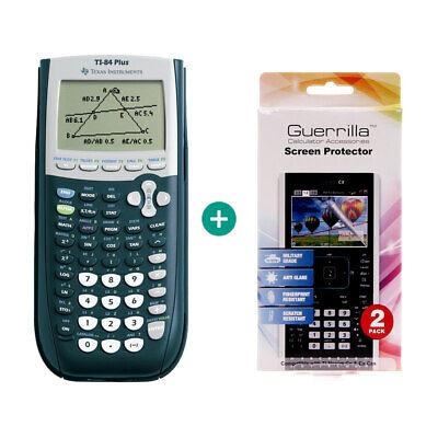 TI 84 Plus Taschenrechner Grafikrechner + Schutzfolie