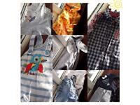 Baby Clothes 6 outfits & 1 FREE romper