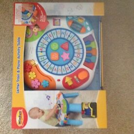Brand new activity table accidentally brought 2 selling for £25
