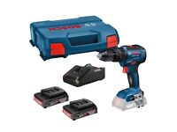 Bosch GSB18V-55 18v Brushless Cordless Combi Drill - 3 Battery options