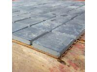 Black Slate Wall Tiles - Mosaic - Sheet - Small squares - only £2.00 per sheet !