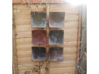 Garden Metal Wall art £3 each, 2 available