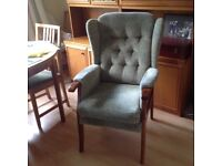 Fireside Chair / Joynson Holland Furniture Makers