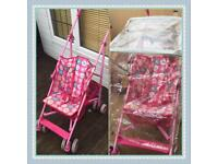 Mothercare buggy and rain cover