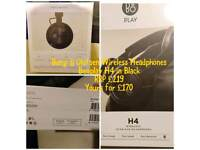 Bang & Olufsen Wireless Headphones Beoplay H4 in Black