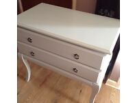 Dove grey dressing table (not painted) 6months old changed my mind too late to return it