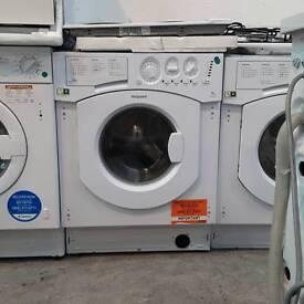 Hotpoint intergrated washing machine #3313