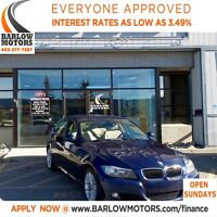 2011 BMW 328 i xDrive/LOW KMS/SUNROOF/LEATHER