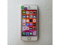 APPLE IPHONE SE 16GB ROSE GOLD UNLOCKED TO ALL NETWORKS WITH RECEIPT