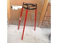 Gas Barbeque, tripod style, never used, with free dish if required