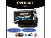 Openbox V9s with 12 months service warranty Plug&play openbox sKYBox v5s v8s f5s f5 f3s f3 Hotbird