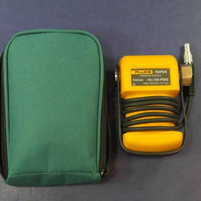Fluke 750PD6 Pressure Module, Excellent Condition, Green Case